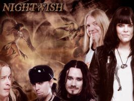 The great band Nightwish by IrenaT