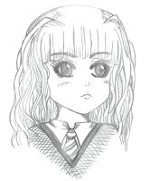 Hermione Sketch by peonyroyale