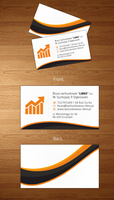 accounting office business cards by vouxe