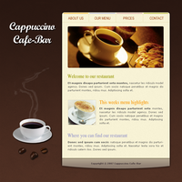 Cafe Template by apokalypseAT