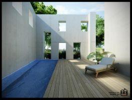 House In Alenquer Pool by deguff