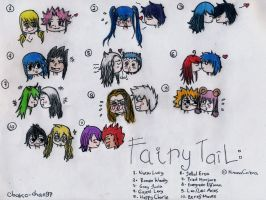 My Fairy Tail Couples by obako-chan97