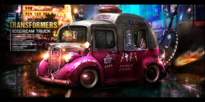 Transformers the IceCreamTruck by deDevils