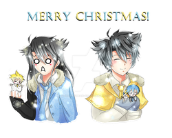 Merry Christmas! by TheAwesomeAki-kun