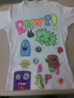 monsters shirt by RaZero0