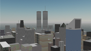 NYC WTC by UnsungBlood