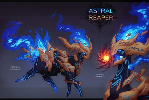 [CLOSED] Adopt AUCTION - ASTRAL REAPER by Snouken