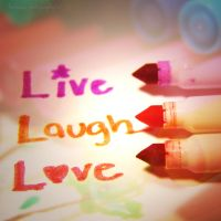 live laugh love by beorange