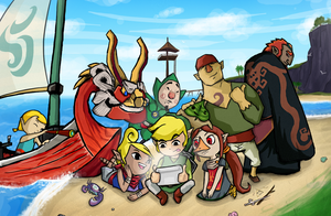 Reliving the Adventure: Wind Waker by sugushmeaky