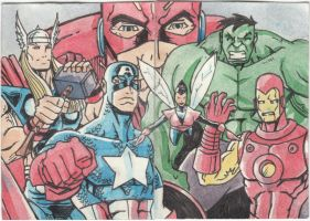 Avengers Assemble by nerp