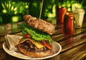 Burger by experiment626monkey