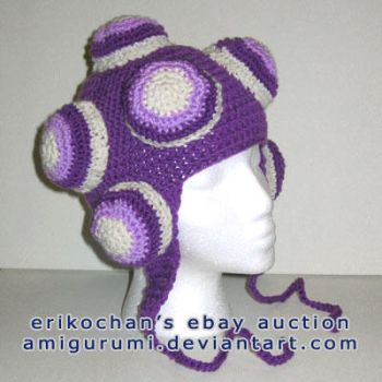 Purple Katamari Hat  -FS- by amigurumi