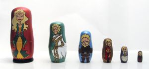 Lannister Nesting Dolls by RFabiano