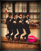 edited pic of the beatles by RingoLove27
