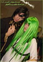 DevID C.C. and Lelouch by Sakenichi
