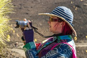 The Wife in Profile on Tenerife by attomanen