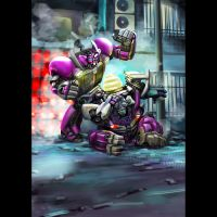 Transformers mudflap and skids by Rex-suler