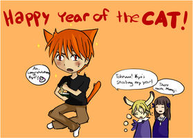 Happy Year of the Cat by Melody-Of-Logic