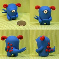 Nather the Timid Monster by TimidMonsters