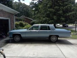 cadillac fleetwood brougham exterior 1 by angusyoung3