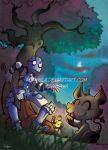 +WAKFU+ Encounter in the dark by Nephyla