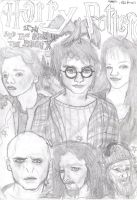 Harry Potter, Order of the Pheonix Sketch by Isaacsporcaelus