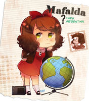 APH Argentina as Mafalda!! by FlopyLopez