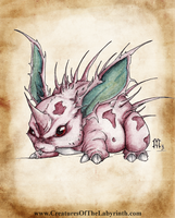 Pokedex Project: Nidoran M by lmerlo72