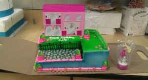 Barbie Dreamhouse Signature Cake by ayarel