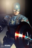 Hot Toys : Captain America: The First Avenger 4 by Chichanan