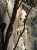 Stick and Skeleton by sketchydreamerstock