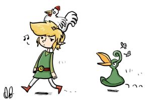 Minish Cap: Oh, Link... by go-ccart