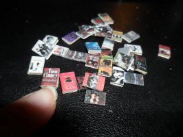 Miniature Books for my Bookcase by kayanah