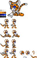 Sheana Sprite Sheet by red-flashTH18