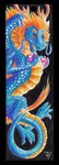 Chinese Dragon Bookmark by ZoeHildebrand-R
