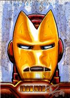 IM2 Sketch Cards: Iron Man TOS by FrankRapoza