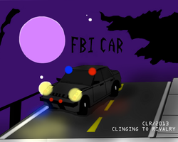 FBI Car (For Mel's 'Clinging to Rivalry') by Catsville1