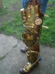 Steampunk Leg Finished1 by Skinz-N-Hydez