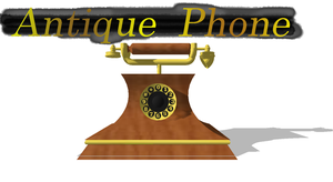 [MMD] Antique Phone DL by OniMau619
