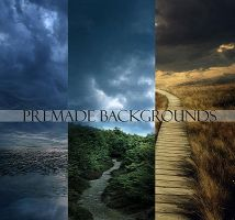 Memories Premade Backgrounds by ImaginaryRosse