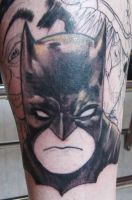 Focus on Batman by CakeinyourFace