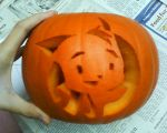 Carved Pumpkin 2010 by Joava