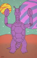 Galaxy Lazer Team Turtle Alien by Hartter