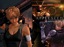 Appleseed DVD insert booklet by JesterAG