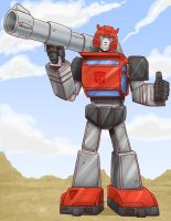 Cliffjumper mp by OmegaSupreme