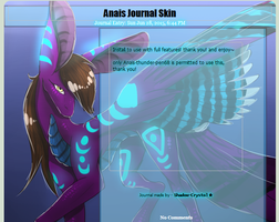 CM: Anais Journal Skin by Shadow-Crystol