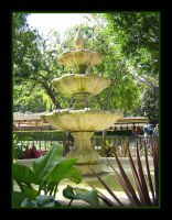 New Orleans Fountain by Lokotei