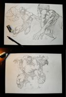 Sketching Session 2 by Atzinaghy