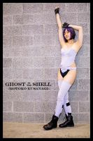 Cosplay - Motoko Kusanagi by Iced-over