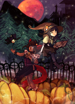 [COLLAB] 2spooky 2014 by 6ooey